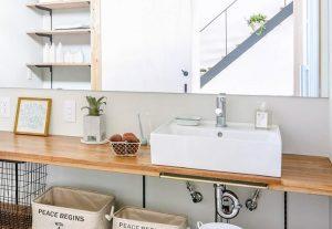 刈谷市で洗面脱衣室のことならまる菊工務店